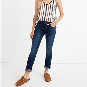 Madewell The Slim BoyJean in Hayes Wash